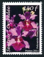 POLYNESIE 2011 - Yv. 956 **   Faciale= 1,18 EUR - Senteur. Orchidée De Tahiti  ..Réf.POL24906 - Neufs