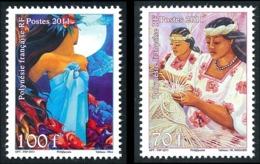 POLYNESIE 2011 - Yv. 940 Et 941 **   Faciale= 1,43 EUR - Journée De La Femme (2 Val.)  ..Réf.POL24895 - Polynésie Française