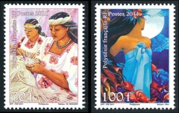 POLYNESIE 2011 - Yv. 940 Et 941 **   Faciale= 1,43 EUR - Journée De La Femme (2 Val.)  ..Réf.POL24896 - Neufs