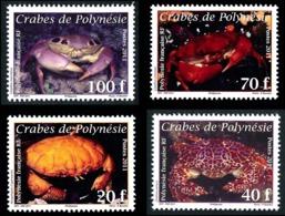 POLYNESIE 2011 - Yv. 935 936 937 Et 938 **   Faciale= 1,93 EUR - Crabes (4 Val.)  ..Réf.POL24891 - Polynésie Française