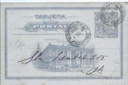 AK-div-32- 61094   - Chile  Ganzsache 1909 Nach St. Isabel - Chile