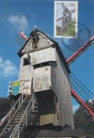 Carte  Maximum  1er   Jour     FRANCE      Moulin  De   CASSEL    2010 - Cartes-Maximum