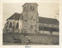 51 Marne Bouy Eglise Photo 11x8 - Lieux