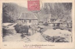 BERG19-  JUMILHAC LE GRAND EN  DORDOGNE  LE MOULIN  CPA   CIRCULEE - France