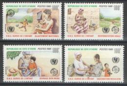 Côte D'Ivoire - YT 729-732 ** MNH - 1985 - Côte D'Ivoire (1960-...)