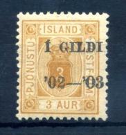 1902 ISLANDA SERVIZIO N.10a * - Servizio
