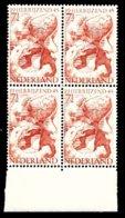 Pays-Bas 1945  Mi.nr: 4x443 Befreiung  MNH / POSTFRIS / NEUF SANS CHARNIERE - Periode 1891-1948 (Wilhelmina)