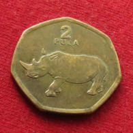 Botswana 2 Pula 2004 KM# 25a Rhinoceros  Botsuana - Botswana