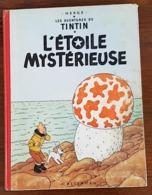 Hergé Tintin L'ETOILE MYSTERIEUSE.  B27.  Edition De 1960. (Voir Les Scans) - Tintin