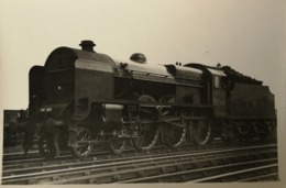 U. K. // Steam Train - Steam Loc. RPPC - Photocard // No 25. 19?? E - Trains