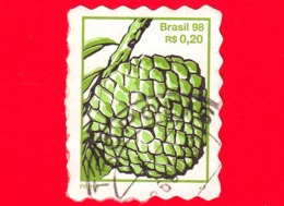 BRASILE - Usato - 1998 - Frutta - Pinha - 0.20 - Brazilië