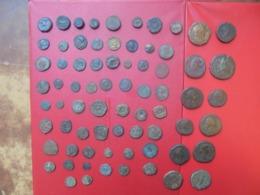 LOT 72 ANTIQUES (ROME-BYZANCE-GRECE-DIVERS) - Monnaies & Billets