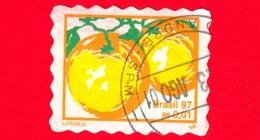 BRASILE - Usato - 1997 - Frutta - Arance - Orange - Laranja - 0.01 - Brazilië