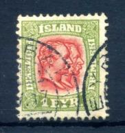 1907 ISLANDA N.47 USATO D.12½ - 1873-1918 Dipendenza Danese