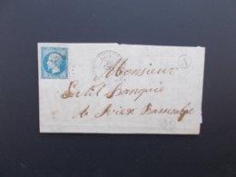 MARQUE POSTALE.VAR.CACHET BAUDUEN.RURAL LES SALLES.GC 350.1868. - Marcophilie (Lettres)