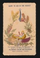 HEILIG PRENTJE IMAGE PIEUSE   11 X 7 CM - Flowers From Bethlehem - Images Religieuses