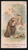 HEILIG PRENTJE IMAGE PIEUSE   12 X 7 CM - SAINT ANTOINE DE PADOUE - Images Religieuses