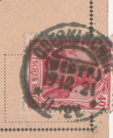 Deutsches Reich Karte Mit Tagesstempel Oberkirchen Westfalen 1921 Stadt Schmallenberg LK Hochsauerland Kreis KOS Stempel - Allemagne