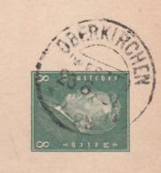 Deutsches Reich Karte Mit Tagesstempel Oberkirchen Westfalen 1931 Stadt Schmallenberg LK Hochsauerland Kreis KOS Stempel - Allemagne