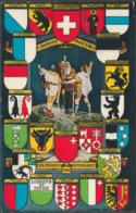 Schweiz - 1 August 1291 - Für Freiheit Und Vaterland, C.1925 - Photoglob-Wehrli AK - Switzerland