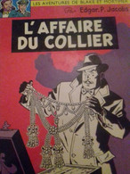 L'affaire Du Collier E.P. JACOBS Dargaud 1967 - Blake Et Mortimer