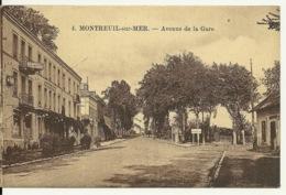 62 - MONTREUIL SUR MER / AVENUE DE LA GARE - Montreuil
