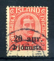 1922-23 ISLANDA SERVIZIO N.41 USATO - Servizio
