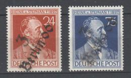 SBZ , Bezirkshandstempel Auf Stephansatz , Postfrisch , Altsigniert - Sowjetische Zone (SBZ)