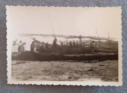 PORTUGAL - ALGARVE - ALBUFEIRA - PESCA - FISHING - REAL PHOTO 1950's - Places
