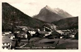 Mittenwaldbahn - Scharnitz 963 M Tirol (6725) 7. 9. 1927 - Scharnitz