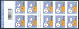 [90765]SUP//ND/Imperf-B88, Croix-Rouge. BD Belge 'Le Chat' Ge Geluck, Carnet De 10 Timbres. - Bélgica
