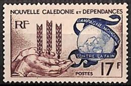[828384]TB//**/Mnh-Nouvelle-Calédonie 1963 - N° 307, Grande Série Coloniale, Contre La Faim - Against Starve