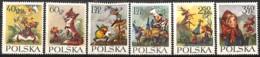[828688]TB//**/Mnh-Pologne 1962 - N° 1222/27,  Contes, Fables & Légendes, SC - 1944-.... République