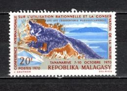 MADAGASCAR   N° 480   OBLITERE   COTE 0.50€   ANIMAUX - Madagascar (1960-...)