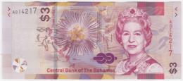 Bahamas P NEW - 3 Dollars 2019 - UNC - Bahamas