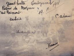 PHOTO - Photographie Originale - Militaire - Militaria - PONTGIVARD - 19.11.1918 - N3 - War, Military