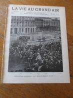 VIE AU GRAND AIR/1898/N°4/ BORDEAUX-PARIS/BRASSERIE DE L'ESPERANCE/BASKET-BALL/CATASTROPHE PERIGUEUX/ MOTOCYCLISTES - 1850 - 1899
