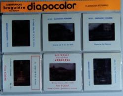 CLERMONT-FERRAND   : 6 DIAPOSITIVES BRUGUIÈRE SUR FILM KODAK - Diapositives (slides)