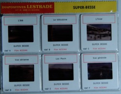 SUPER-BESSE    : 6 DIAPOSITIVES LESTRADE SUR FILM KODAK - Diapositives