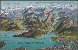 Vierwald-Stättersee, Nidwalden & Luzern, C.1910s - Photoglob AK - NW Nidwalden