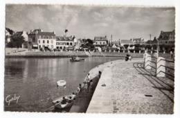 LOCQUIREC--1959-- La Jetée Promenade Et La Plage  (petite Animation) ........ à Saisir - Locquirec