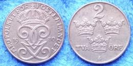 SWEDEN - 2 öre 1950 KM# 778 Gustav V (1907-1950) Bronze - Edelweiss Coins - Schweden