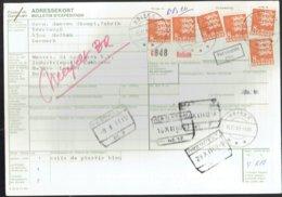 Bulletin D'expédition International - Holbaek Danemark Vers Lommel Belgique 1981 - Obl-Holbaek-Neerpeld-Herbesthal - Paquetes Postales