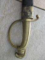 SABRE TYPE 1821 PROBABLE DES ETATS ALLEMAND - Knives/Swords