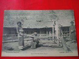 LAOS JEUNE FILLE KHA KOUENE TISSANT - Laos