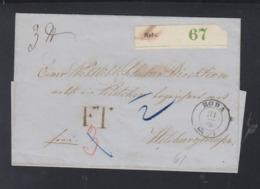 Begleitbrief Roda - Preussen (Prussia)