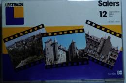 SALERS      : POCHETTE DE 12 DIAPOSITIVES LESTRADE SUR FILM KODAK - Diapositives (slides)
