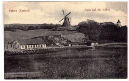 Latvia Lettland WINDMILL Talsi Talsen Photo 1916 - Windmills