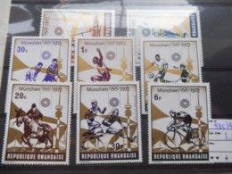 Rwanda  Velo Et Autres 485/92  -  Sport  Neuf ** 1972 - Ete 1972: Munich