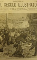 IL SECOLO ILLUSTRATO 1897. N 421 IL TUMULTO DI ROMA IN PIAZZA NAVONA. EMANUELE FILIBERTO A CASTELLAMARE. AUTUNNO - Avant 1900